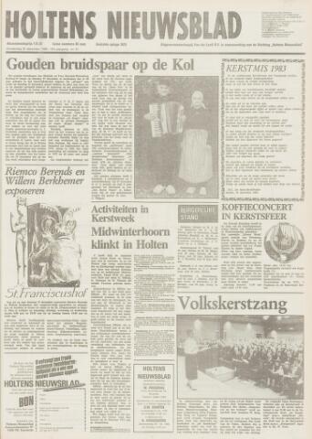 Holtens Nieuwsblad 1983-12-22
