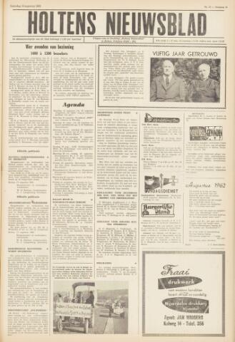 Holtens Nieuwsblad 1962-08-18