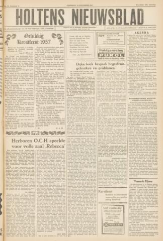 Holtens Nieuwsblad 1957-12-21