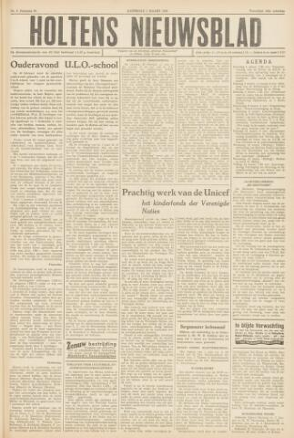 Holtens Nieuwsblad 1958-03-01