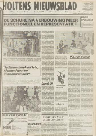 Holtens Nieuwsblad 1981-05-28