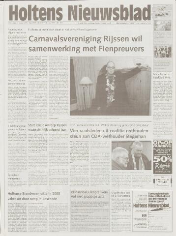 Holtens Nieuwsblad 2001-01-11