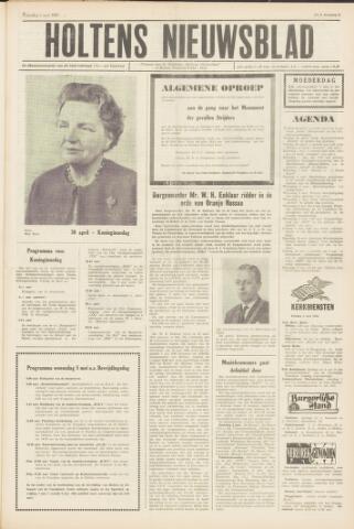 Holtens Nieuwsblad 1965-05-01