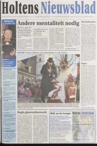 Holtens Nieuwsblad 2008-11-25