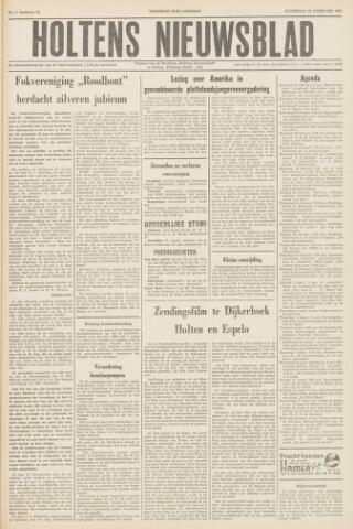 Holtens Nieuwsblad 1960-02-20