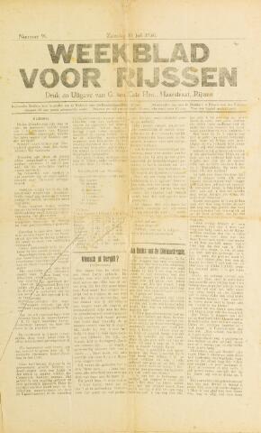 Weekblad voor Rijssen 1920-07-10
