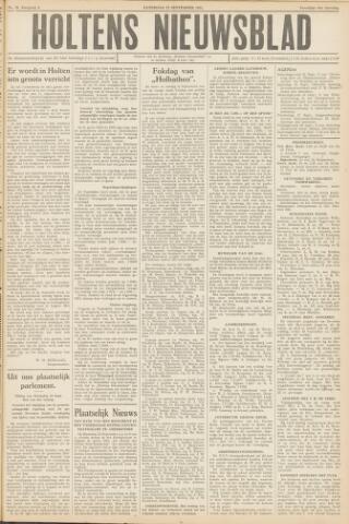 Holtens Nieuwsblad 1951-09-22