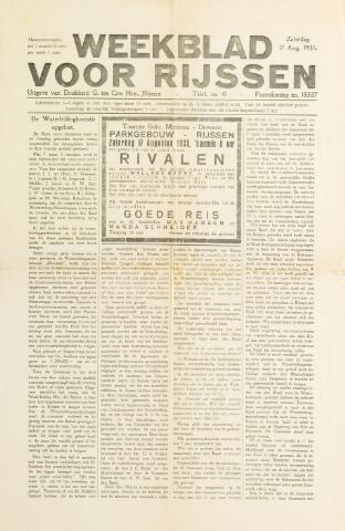 Weekblad voor Rijssen 1935-08-17