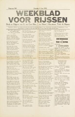 Weekblad voor Rijssen 1932-06-11