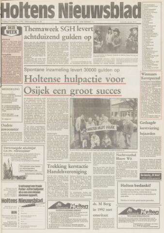 Holtens Nieuwsblad 1991-12-27
