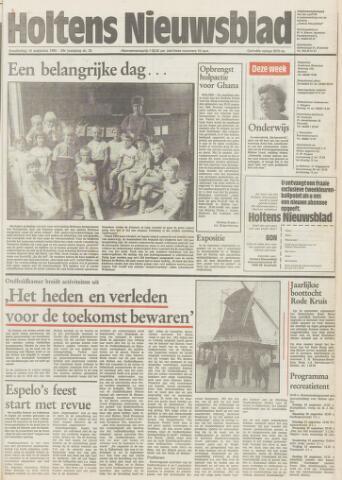 Holtens Nieuwsblad 1984-08-16
