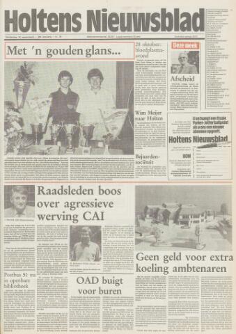 Holtens Nieuwsblad 1985-09-19