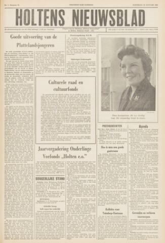 Holtens Nieuwsblad 1960-01-30