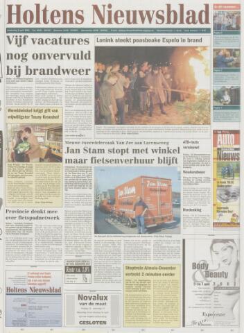 Holtens Nieuwsblad 2002-04-04