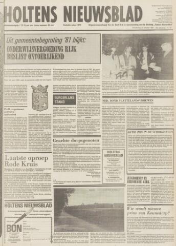 Holtens Nieuwsblad 1981-10-22