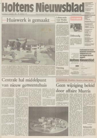 Holtens Nieuwsblad 1984-09-27