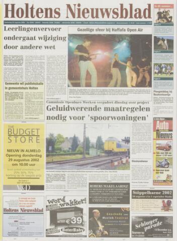 Holtens Nieuwsblad 2002-08-22