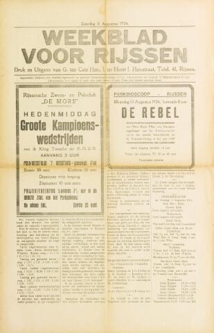 Weekblad voor Rijssen 1934-08-11