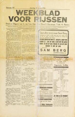 Weekblad voor Rijssen 1933-01-21