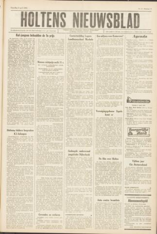 Holtens Nieuwsblad 1964-04-04