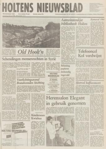 Holtens Nieuwsblad 1984-02-09