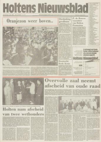 Holtens Nieuwsblad 1986-05-01