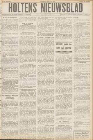 Holtens Nieuwsblad 1952-08-09