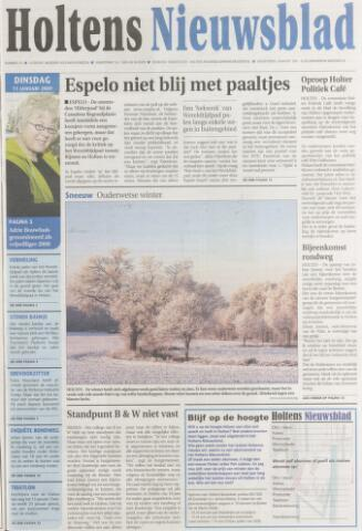 Holtens Nieuwsblad 2009-01-13