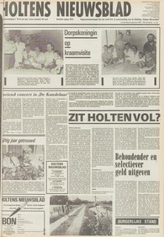 Holtens Nieuwsblad 1981-08-06
