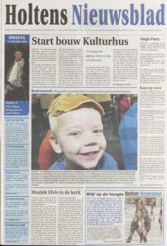Holtens Nieuwsblad 2009-10-13