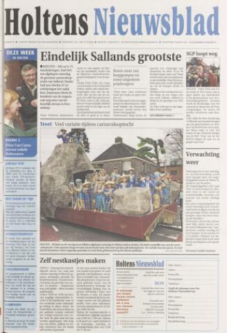Holtens Nieuwsblad 2007-02-20