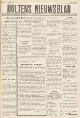Holtens Nieuwsblad 1961-09-30