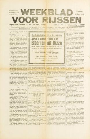 Weekblad voor Rijssen 1938-12-10