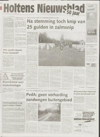 Holtens Nieuwsblad 1999-11-11