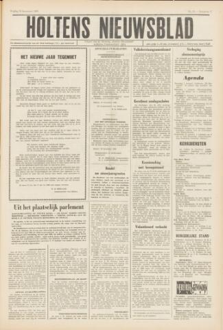 Holtens Nieuwsblad 1965-12-31