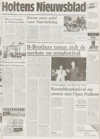 Holtens Nieuwsblad 1995-08-31