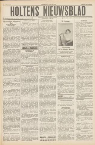 Holtens Nieuwsblad 1954-01-30