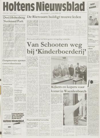 Holtens Nieuwsblad 1997-11-06