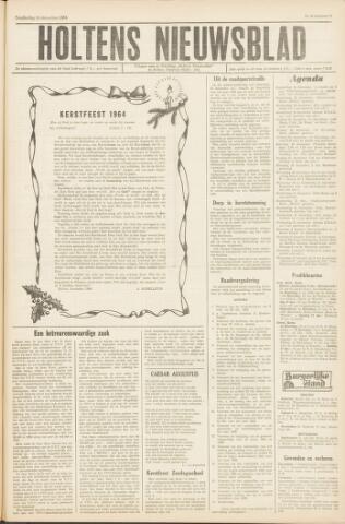 Holtens Nieuwsblad 1964-12-24