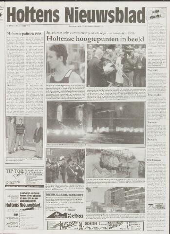Holtens Nieuwsblad 1998-12-30