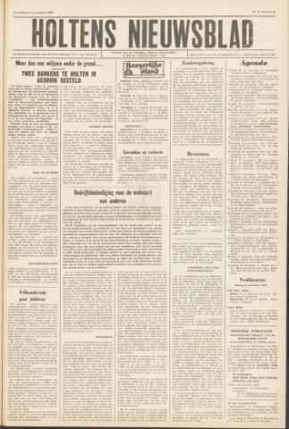 Holtens Nieuwsblad 1964-11-21