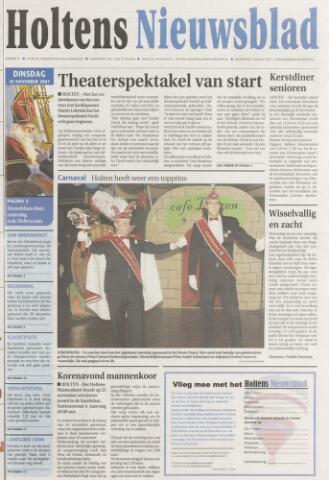 Holtens Nieuwsblad 2007-11-20