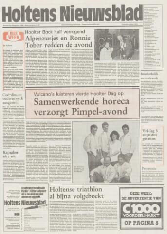 Holtens Nieuwsblad 1988-08-04
