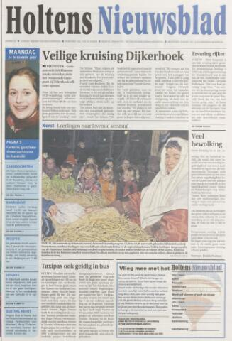 Holtens Nieuwsblad 2007-12-24