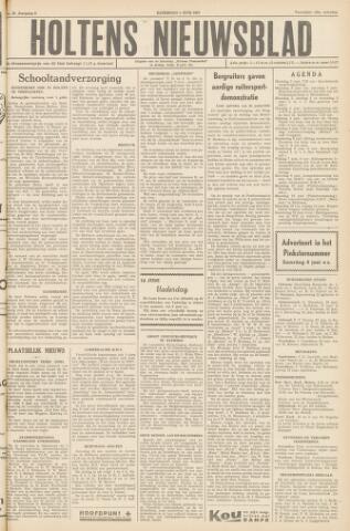 Holtens Nieuwsblad 1957-06-01