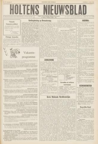 Holtens Nieuwsblad 1960-07-09