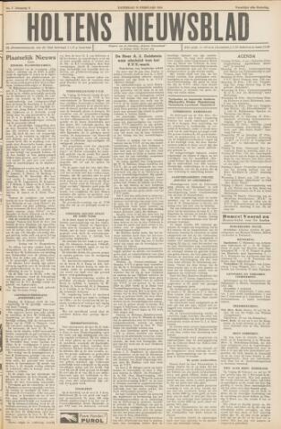 Holtens Nieuwsblad 1954-02-20