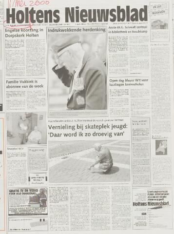 Holtens Nieuwsblad 2000-05-11