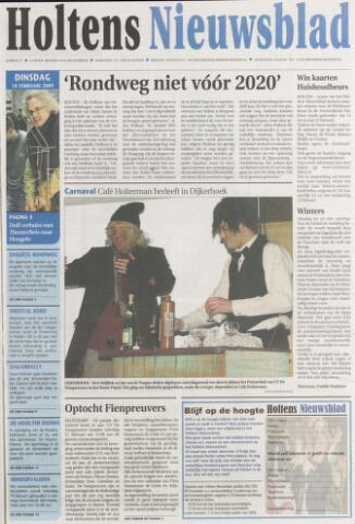 Holtens Nieuwsblad 2009-02-10