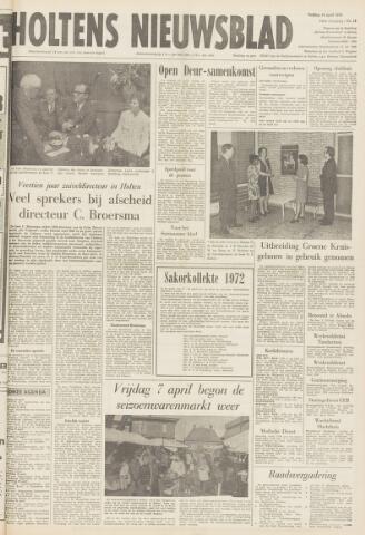 Holtens Nieuwsblad 1972-04-14